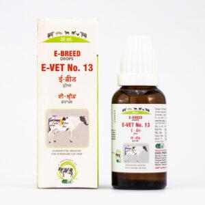 e-vet no. 13 e-breed drops