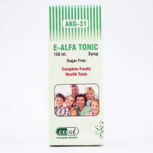 akg-31 e-alfa tonic syrup sugar free
